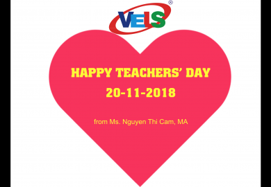 VELS with Teacher's Day Celebration - 2018